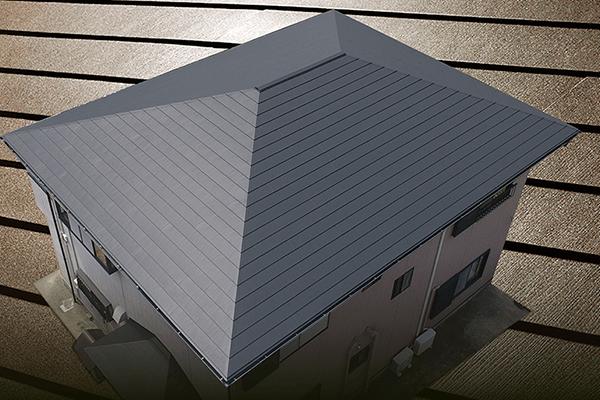 屋根材を保護するための塗装という考え方